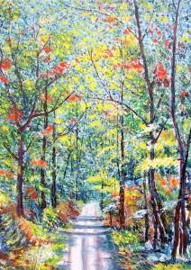 David Giovannini – Viale nel bosco