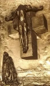 Salvador Dalì – Crucifixion