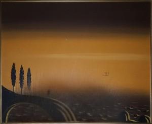 Marcello Antonelli – Paesaggio con figura