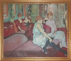 Doriano Scazzosi – Al salone in Rue des Moulins