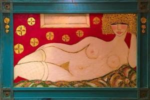 Jaquet Louis – Nude au bas blanc