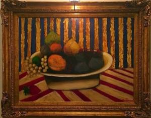 Jaquet Louis – Plat de fruits