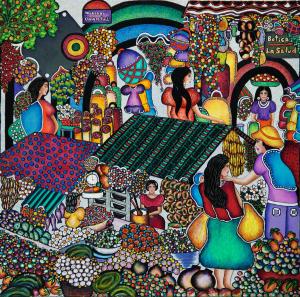 Ena Gordillo – Mercato del Nicaragua