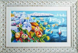 Athos Faccincani – La barca rossa è un gioco di luce