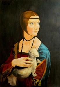 Federica Bortolin – Dama con ermellino