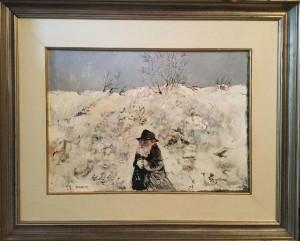 Antonio Possenti –  Figura nella neve
