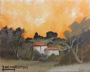 Leonardo De Magistris – Paesaggio laziale