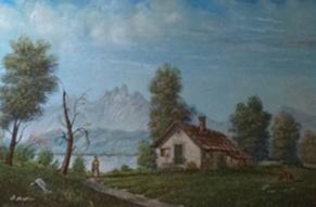 Stangalino Laura -Paesaggio lacustre