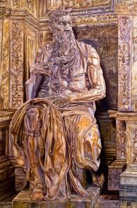 Rossi Michelangelo – The Golden Moses