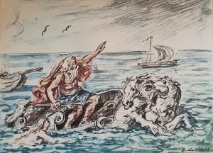 Giorgio De Chirico – Poseidone