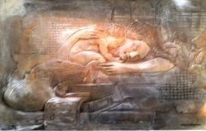 Elvio Marchionni – Madonna con bambino