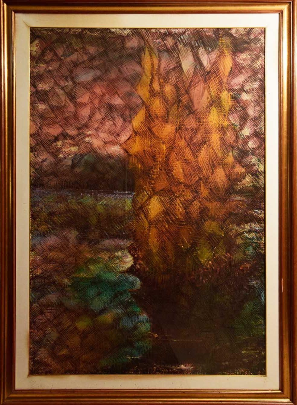 Pasquale Pilla – Vela all'imbrunire