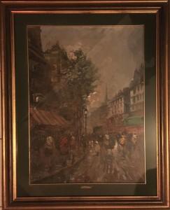 Giulio De Simone – Scorcio di Parigi