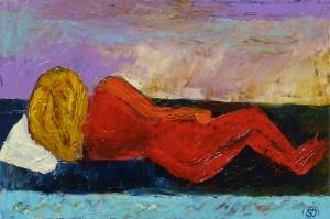 Simona De Arcangelis – Nudo rosso