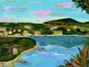 Simona De Arcangelis – Paesaggio ligure