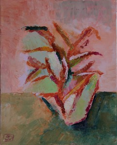 Simona De Arcangelis – Vaso con fiori