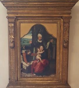 Pieter van Aelst – Madonna con culla