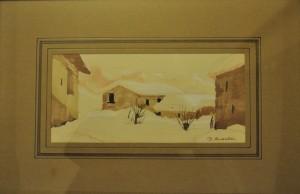 Piero Ansaldi – Inverno in Val Vairata