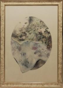Bruno Benatti – Gatto e fiori