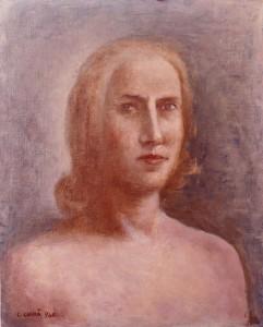 Carlo Carrà – Ritratto femminile