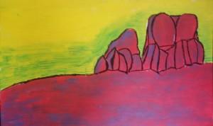 Cristina Antonini – Deserto rosso