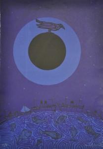 Francesco Casorati – Eclissi di Luna