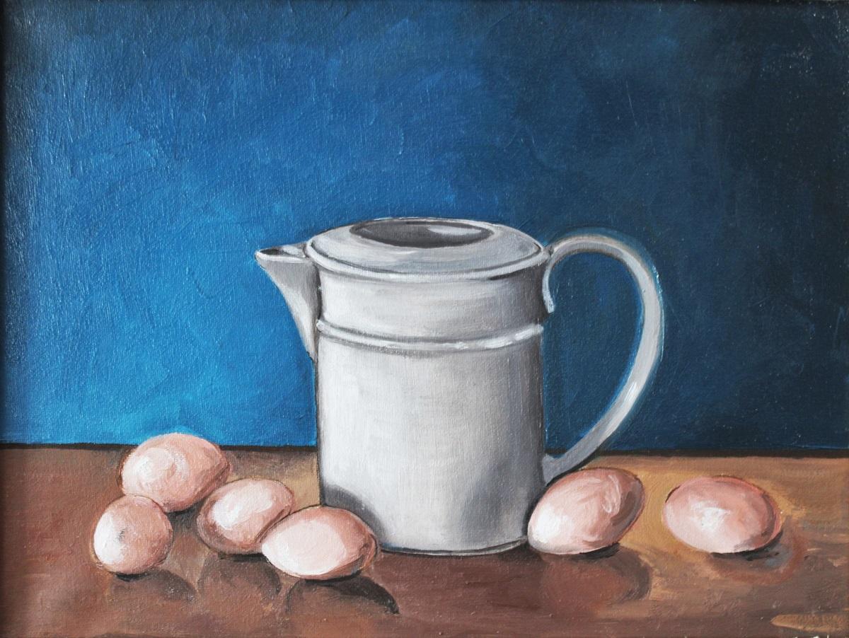 Antonio Granato – Caraffa con uova