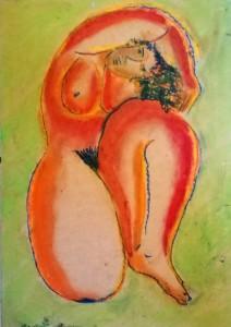Cristina Antonini – Nudo Arancio