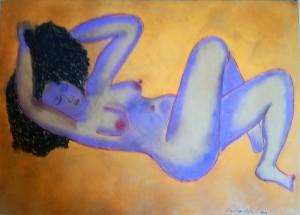 Cristina Antonini – Nudo viola