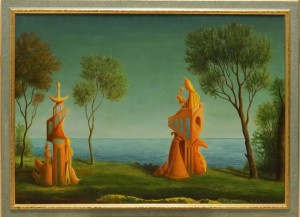 Benedetto Caselli – Paesaggio metafisico