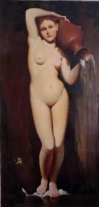 Menshov Anatoly – Ingres-La-Sorgente-1856