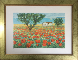Michele Cascella – Paesaggio