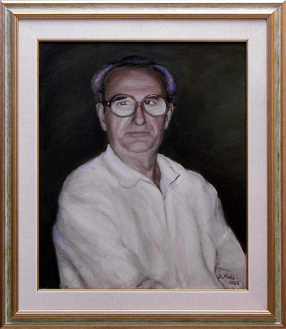 Shehi Brikena – Ritratto di uomo