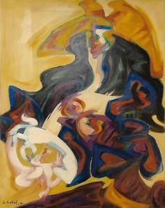 Philippe Artias – Donna con cappello