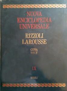 Nuova Enciclopedia Universale – Rizzoli