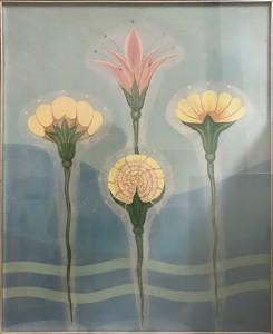 Gerardo Dottori – Quattro fiori
