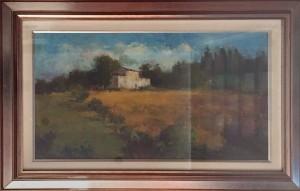 Franco Mazzucchetti – Paesaggio Toscano
