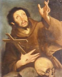 Bernardo Strozzi – San Francesco in estasi