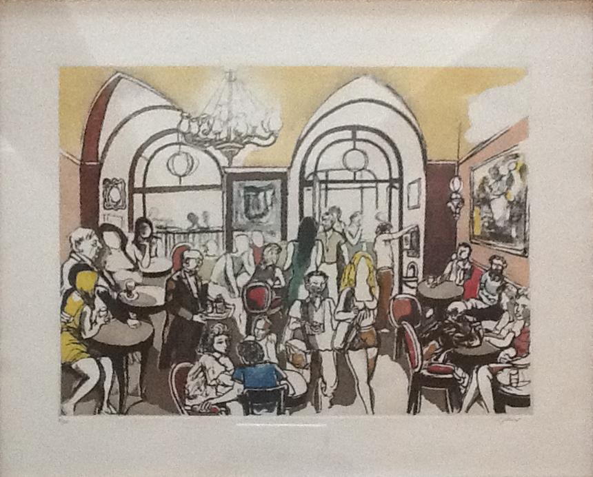 Renato Guttuso – Caffè greco