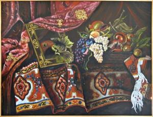 Giosuè Marsicano – Natura morta tappeto