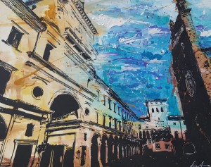 Luca Azzurro – Piazza duomo a Crema