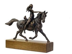 Carlo Balljana – Cavallo con amazzone