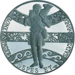 Medaglia del Giubileo (Versione Platino) – Istituto Poligrafico e Zecca di Stato