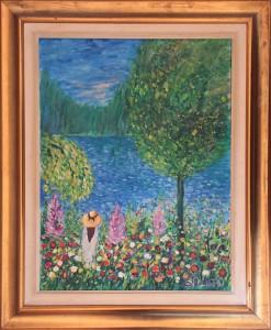 Luigi Settembrini – Paesaggio Lacustre