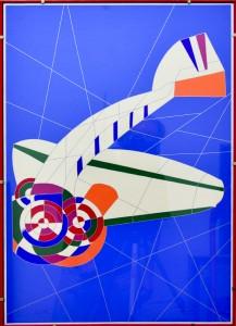 Ugo Nespolo – L'aeroplano