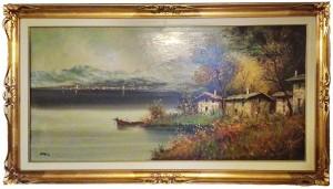 Olano Iniacio Diaz – Paesaggio sul lago