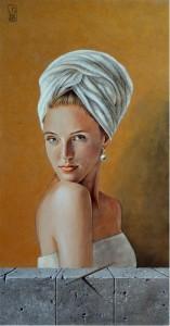 Barbieri Grazia – Ragazza con asciugamano
