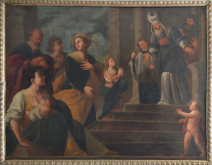 Artista Sconosciuto – Gesù al tempio