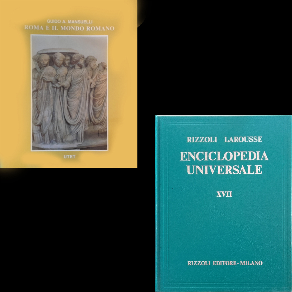"Enciclopedia ""Arte e archeologia"" e Enciclopedia ""Universale"" Rizzoli Larousse"