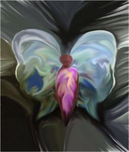 Biagioli Nikla – Donna farfalla